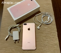 Iphone 7plus 128gb rose gold